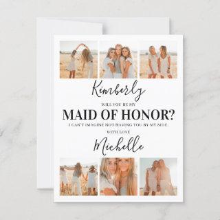Add Photos Will You Be My Maid of Honor? Proposal