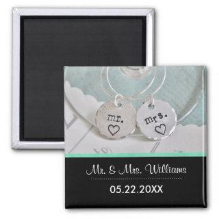 Add Your Own Photo Wedding Favor Magnets