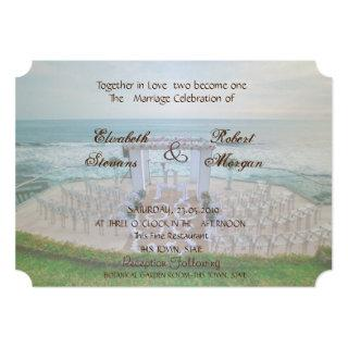 Adorable Beach  Wedding   Invitations