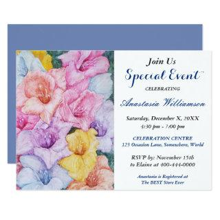AFTERNOON GARDEN PARTY EVENT INVITE