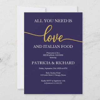 All You Need Is Love And Italian Food