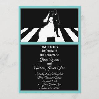 All You Need Is Love Music Wedding Invitation