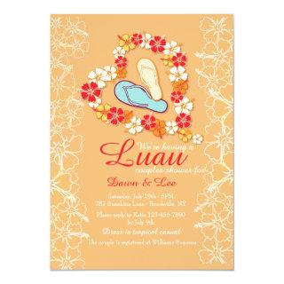 Aloha Love Luau Bridal Shower Invitations