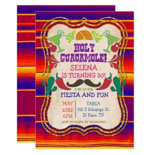 ANY EVENT - Mexican Fiesta Party Invitations
