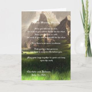 Apache Wedding Blessing Valley Card