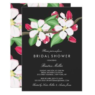 Apple Blossom Branch | Bridal Shower Invitation