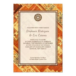 Aztec Fiesta Wedding Invitations