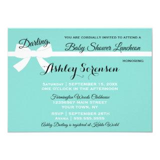 Baby & Company Sprinkle Shower Tiara Party Invitations