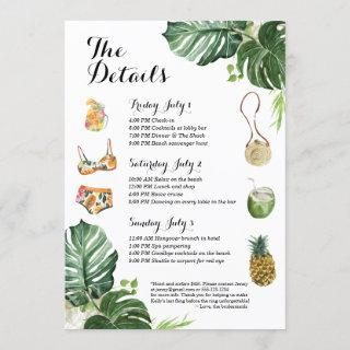 Bachelorette Party Beach Weekend Itinerary