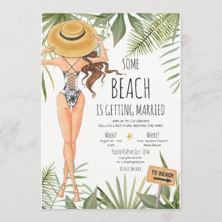 Bachelorette Party Beach Weekend Itinerary Invitations