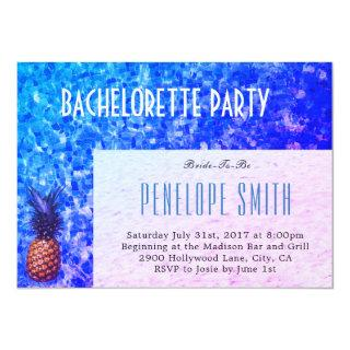 Bachelorette Party Invitation - Pool/Summer Themed