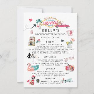 Bachelorette Weekend Itinerary | Las Vegas