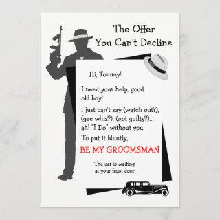 Be My Groomsman Offer You Can't Decline Invitations