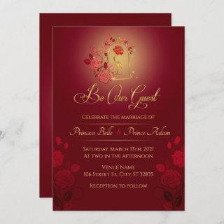 Be Our Guest Enchanted Wedding