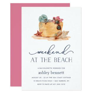 Beach Bag | Weekend Getaway Invitation
