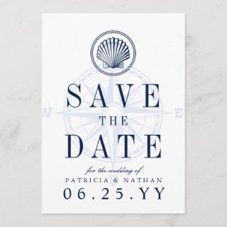 Beach Lighthouse   Save the Date Invitations