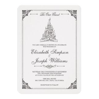 Beauty and the Beast | Fairy Tale Castle Wedding Invitations