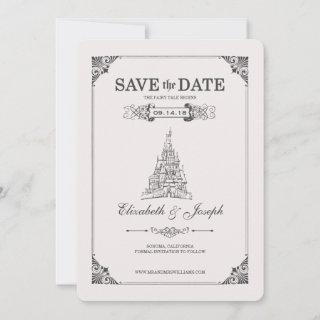 Beauty and the Beast | Fairy Tale - Save the Date