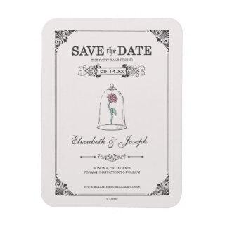 Beauty and the Beast | Fairy Tale - Save the Date Magnet