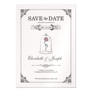 Beauty and the Beast | Fairy Tale - Save the Date Magnetic Invitations