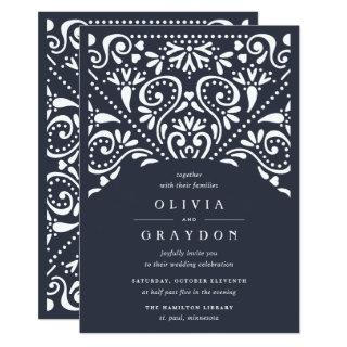 Beaux Arts Wedding Invitations | Ink