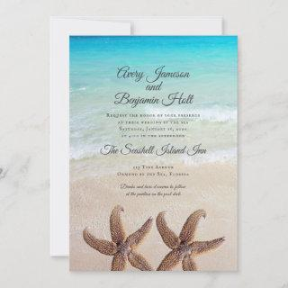 Big Starfish Marriage By The Sea