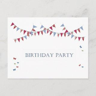 Birthday Party - Invitations Postcard
