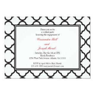 Black & White Affair Invitations