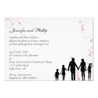 Blended Family Wedding Invitations