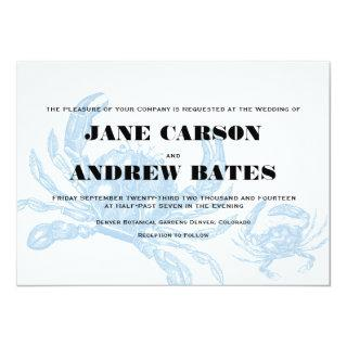 Blue Crab Invitation
