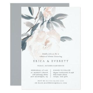 Blush Whisper Rehearsal Dinner Invitations