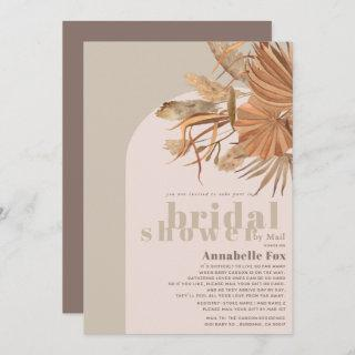 Boho Pampas Grass Bridal Shower by Mail