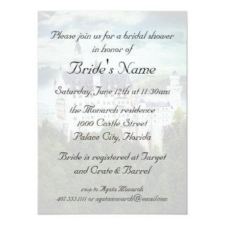 Bridal Shower, Castle Themed Wedding Invitations