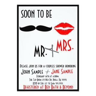 Bridal Shower Couples Invitations