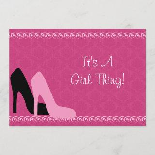 Bridal Shower /Girls Night Out Party  Invitations