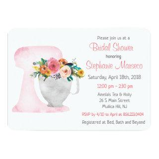 Bridal Shower Kitchen Tea Invitations