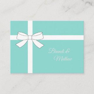 Bride & Co Traditional Wedding Suite Insert Card