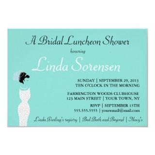 BRIDE Personalized Bridal Luncheon Shower Party Invitation