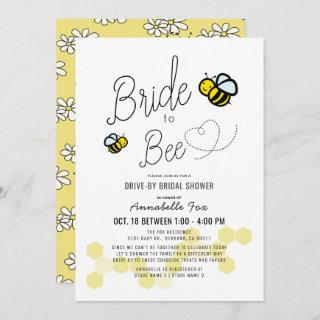 Bride to Bee White Drive-by Bridal Shower