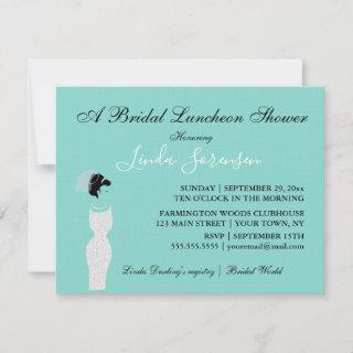 Bride Touch Of Silver Bridal Luncheon Tea Party
