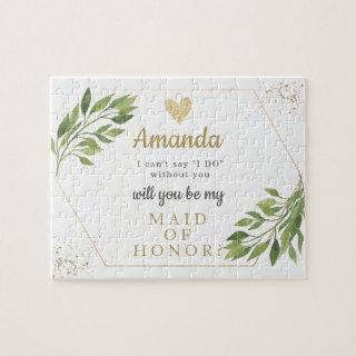 Bridesmai or Maid of Honor proposal puzzle