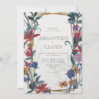 Bright Country Bouquet Summer Invitations