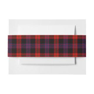 Brown Scottish Tartan Belly Band