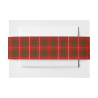 Bruce Scottish Tartan Belly Band