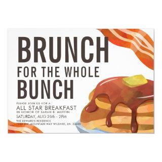BRUNCH FOR THE BUNCH | Breakfast gathering invite