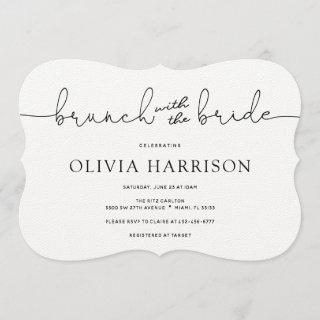 Brunch with the Bride Shower Invitations