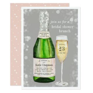 Bubbly Toast | Bridal Shower Brunch Invitation