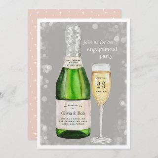 Bubbly Toast | Engagement Party