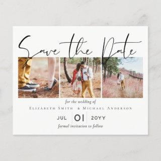 BUDGET Engagement Photo SAVE the DATE Template