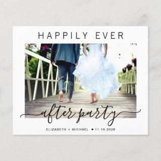 Budget Happily Ever After Party Photo Wedding